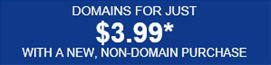 3.99 domain registration